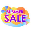 summer sale liquid abstract shapes gradient vector image