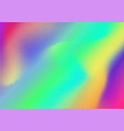 abstract rainbow gradient dotted background vector image vector image