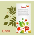 Acrylic colorful background with leafs vector image