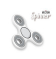 fidget spinner 3d realistic modern relaxation vector image vector image