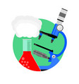 scientific experiment icon vector image