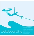 Wakeboard vector image