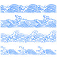 Wave borders vector | Price: 1 Credit (USD $1)