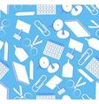 Seamless stationery vector image