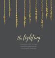 string lights vector image