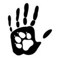 dog - mans best friend vector image vector image