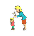 happy mothers day mother parenting concept vector image