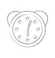 watch alarm clock icon vector image