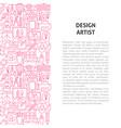 design artist line pattern concept