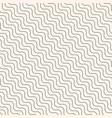 diagonal thin wavy lines seamless modern pattern vector image vector image