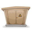 electrical cabinet vector image vector image