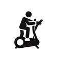 exercise icon vector image