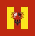 flag of lodz voivodeship in central poland