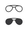glasses symbol icon design vector image