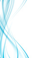 Modernistic abstract satin swoosh lines vector image