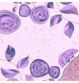 Retro flower background EPS 8 vector image