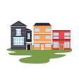 urban buildings city vector image vector image