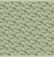 art nouveau seamless flower pattern vector image