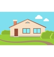 Big Family House vector image vector image