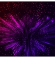 Bright pink and violet shining Abstract vector image vector image
