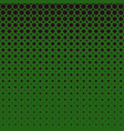 green geometrical halftone dot pattern background vector image vector image