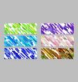 modern random diagonal stripe pattern banner vector image vector image