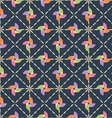 pinwheel pattern vector image vector image