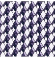 purple rhombs pattern Geometric abstract vector image vector image