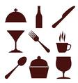 Restaurant digital design vector image vector image