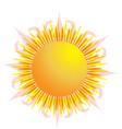 sun symbol icon logo vector image
