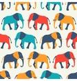 animal seamless pattern elephant vector image vector image