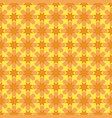 arabesque geometric seamless floral pattern vector image vector image