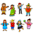 ethnic diversity vector image vector image