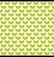 kiwi fruit pattern background design vector image vector image