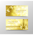 003 Christmas card template for invitation and vector image vector image
