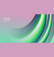 abstract 3d mixing of colors and lines vector image