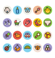 Baby Icons 1 vector image vector image