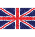 British flag gb vector image vector image