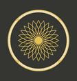 geometric symbol vector image