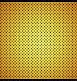 gold carbon fiber texture background vector image