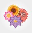 hello april design vector image vector image