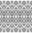 ikat seamless pattern design for fabric vector image vector image
