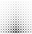 monochrome halftone circle pattern background vector image vector image