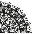 Quadrant ornament in ethnic style vector image vector image