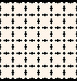 seamless pattern with circles in square grid vector image vector image