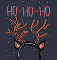 cute greeting cards new year and christmas vector image vector image