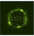 Happy new year 2017 holiday background vector image vector image