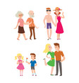 people happy couple cartoon relationship vector image vector image