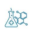 prescription for a medicine formula the vector image vector image