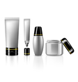 Product set for skin care collection for beauty vector image